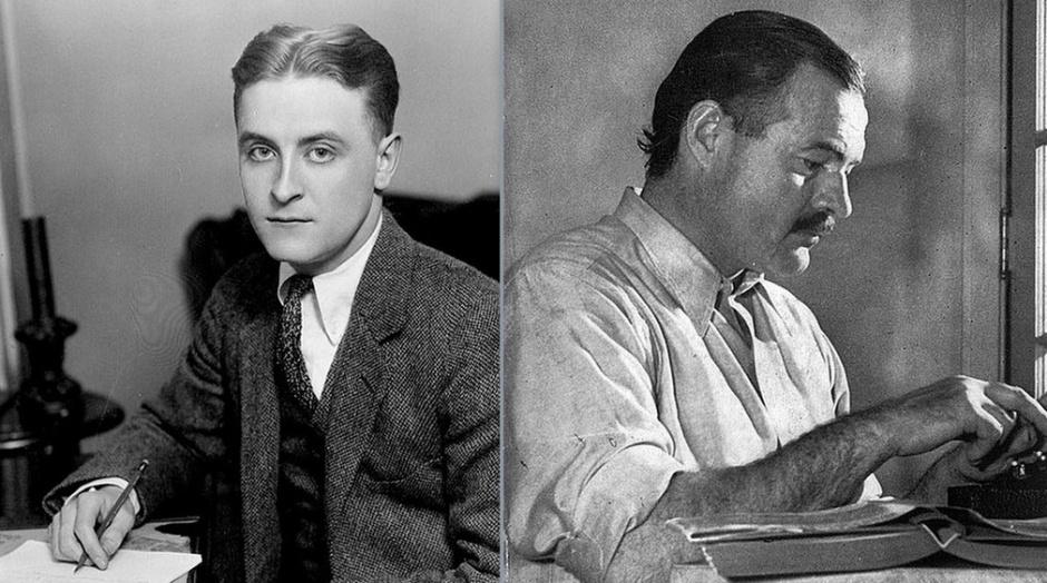 Hemingway-Fitzgerald-ritratto